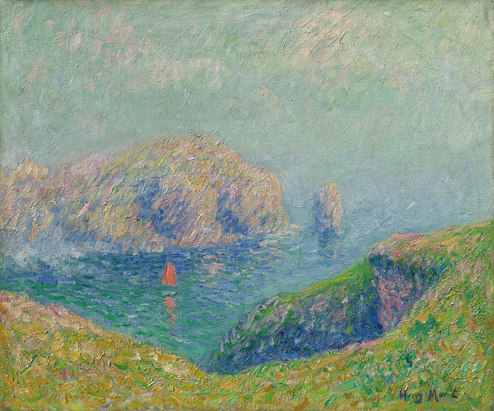 Museum Barberini | Henry Moret: View of the Bay with Sailboat
